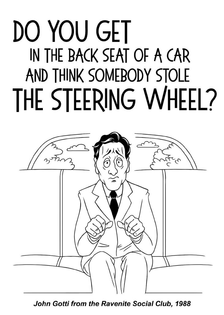 The Steering Wheel?